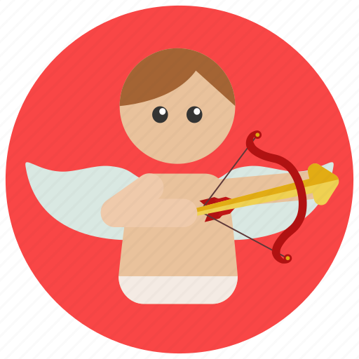 cupid, love, valentine icon