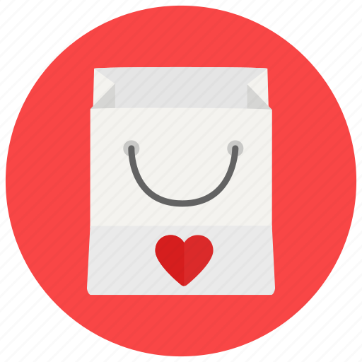day, shopping, valentine icon
