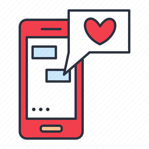 love, message, sms icon