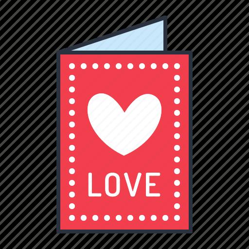 card, love, valentine icon