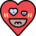 crush, emoji, emotion, happy, heart, love