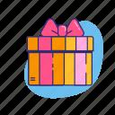 gift, love, present, relationship, valentine, valentine's day icon