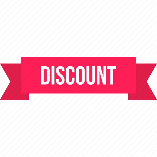discount, ecommerce, label, ribbon, shop, shopping, tag icon