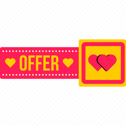 day, offer, online, sale, special, valentine, valentines icon