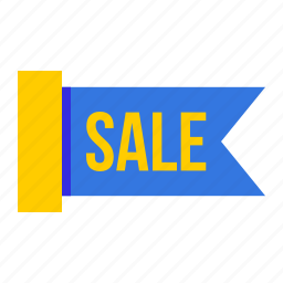 coupon, offer, ribbon, sale, shop, shopping, tag icon