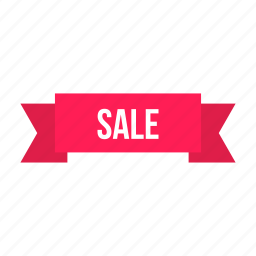 discount, label, offer, ribbon, sale, shop icon