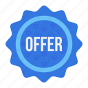 label, offer, sale, shop, shopping, sticker icon
