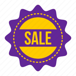 label, offer, sale, shop, shopping, sticker, tag icon