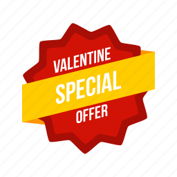 offer, sale, shop, shopping, special, valentine, valentines icon