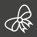 bow, butterfly, decor, ribbon icon
