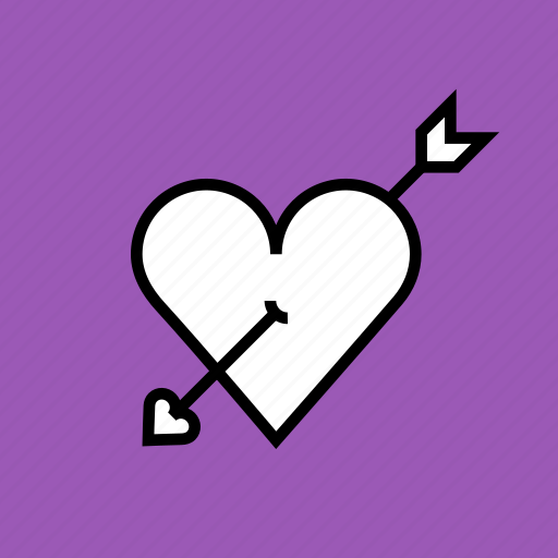 Arrow, cupid, heart, love, marriage, romance, valentines icon - Download on Iconfinder