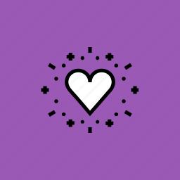 balloon, celebrate, day, heart, love, romance, valentines icon