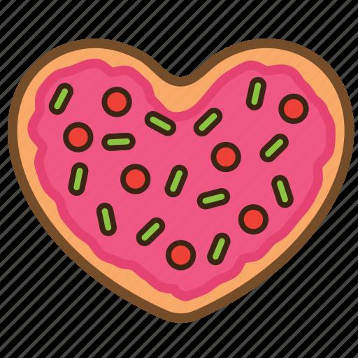 Cookie, love, pastrie, snack, sugar, sweet, valentine icon - Download on Iconfinder