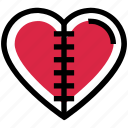 heart, injury, love, pain, scar, valentine's day
