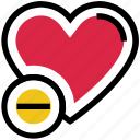 heart, love, minus, remove, valentine's day