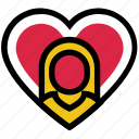 girl, girlfriend, heart, love, romance, valentine's day, woman