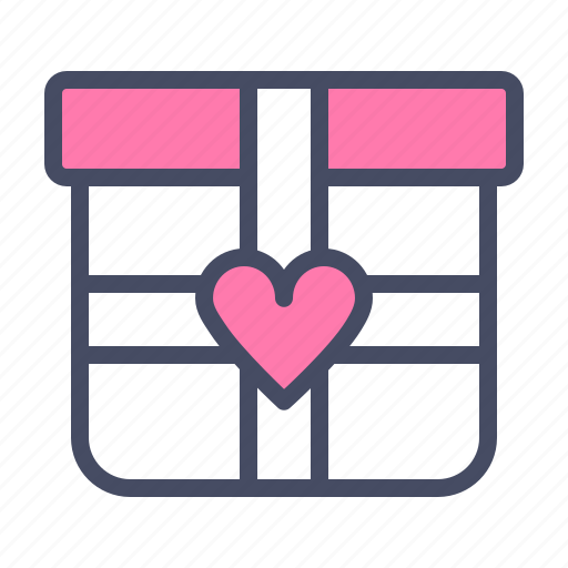 day, gift, love, present, romance, valentines, wedding icon
