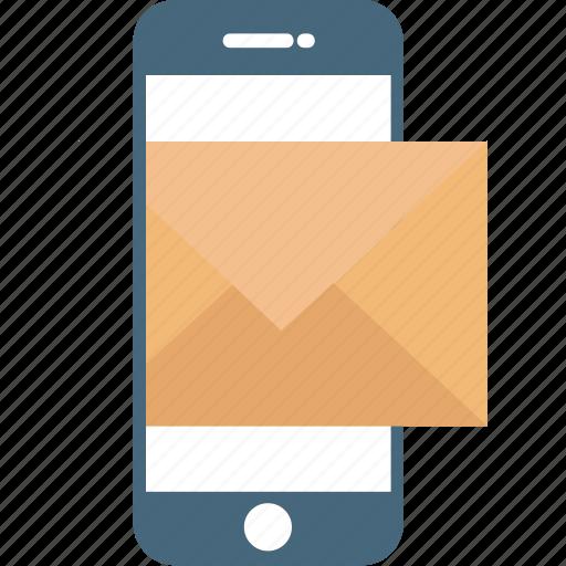 letter sign, mobile, mobile communication, mobile internet icon