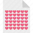 correspondence, heart sign, love, love communication icon
