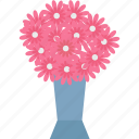 bouquet, bouquet flowers, event, flower arrangement icon
