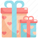 box, gift, love, presents, romance, valentine, valentines