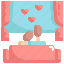 love, movie, romance, sofa, sweet, valentine, valentines