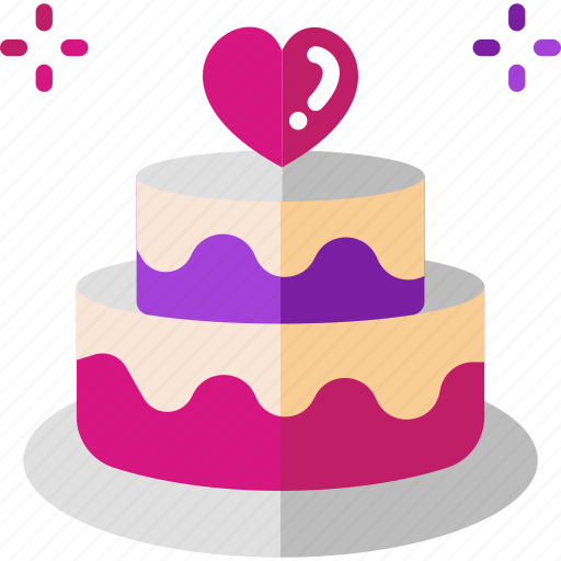 Cool Birthday Cake Cake Valentine Wedding Icon Funny Birthday Cards Online Elaedamsfinfo