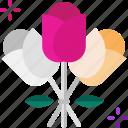 bouquet, day, love, roses, valentine, wedding
