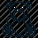 bear, doll, gift, heart, love, toy, valentine