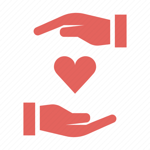 care, caring, day, hands, love, romance, valentines icon