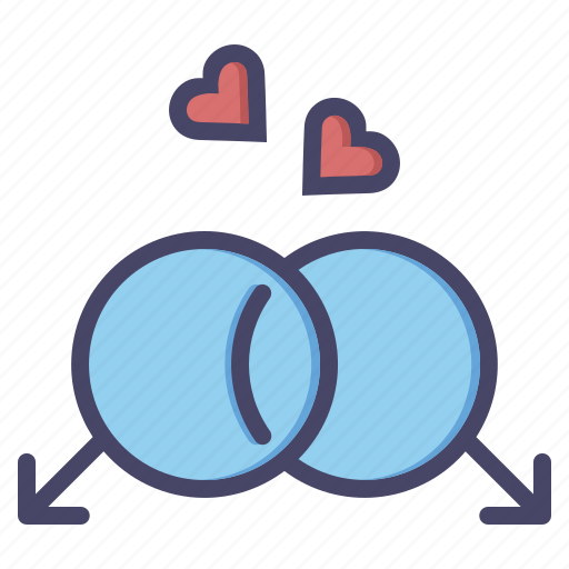 couple, gay, heart, lgbt, love, marriage, romance icon