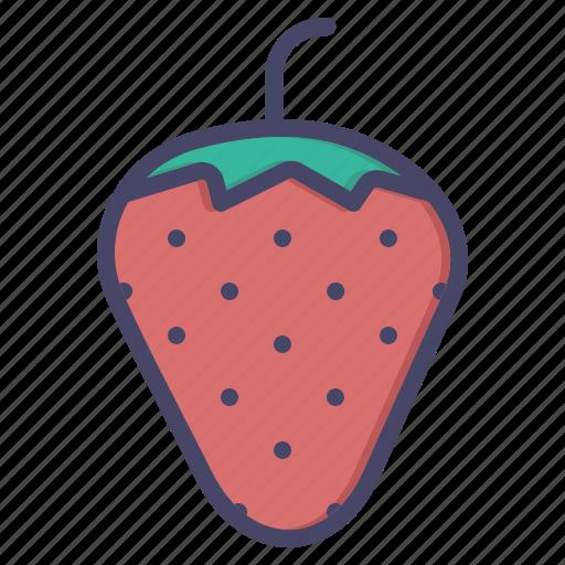 fruit, love, romance, romantic, sex, strawberry icon