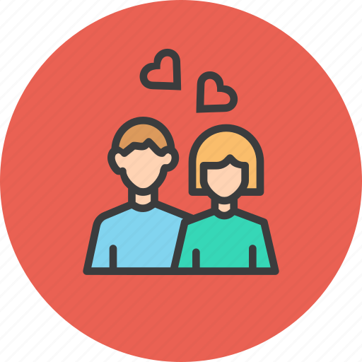 Couple, day, heart, love, romance, romantic, valentines icon - Download on Iconfinder