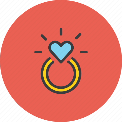 Engagement, love, marriage, propose, ring, valentines, wedding icon - Download on Iconfinder