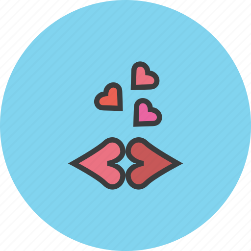 Kiss, kisses, lips, love, romance, romantic, valentines icon - Download on Iconfinder
