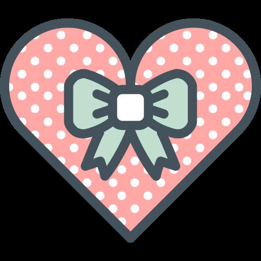 giftbox, heart, valentines icon