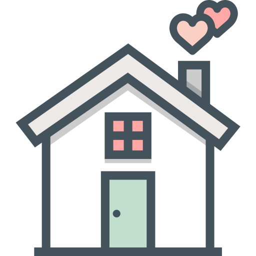 house, love icon