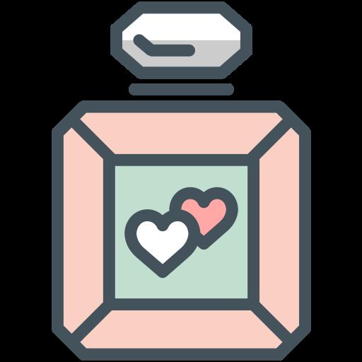bottle, perfume icon