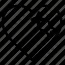gift, heart, love, valentine, valentines icon