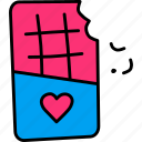 celebrate, chocolate, day, love, romance, romantic, valentines icon