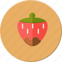 delicius, food, fruit, love, romantic, strawberry, valentines icon