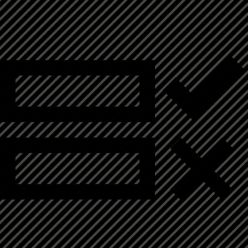 field, fill, form, input, invalid, validate, verify icon