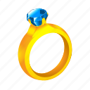 achievement, crystal, diamond, dress, reward, ring, treasure
