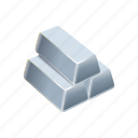 buy, coin, money, pile, shop, silver, stack icon