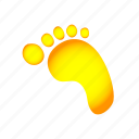 find, foot, step, trace, track icon