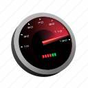car, fast, race, racing, speed, speedometer icon