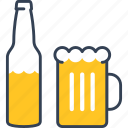alcohol, beer, bottle, vankuver icon