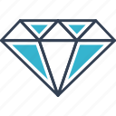 beauty, diamond, jewel, vankuver icon