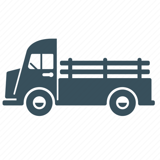 delivery, pick-up, transport, truck, van, vehicle icon