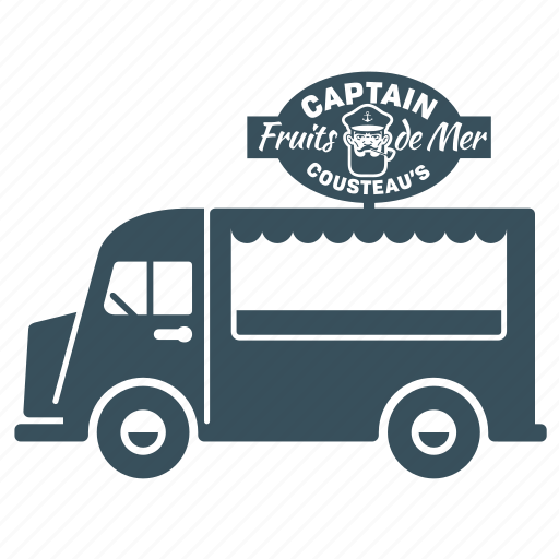 delivery, transport, truck, van icon